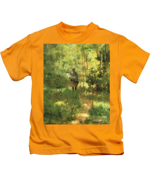 An Impression Dans La Sous Bois Kids T-Shirt