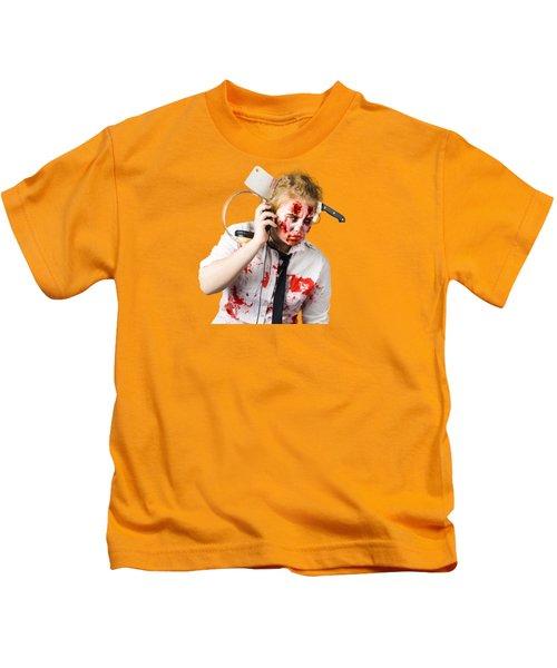 Anthem Of The Zombie Apocalypse Kids T-Shirt
