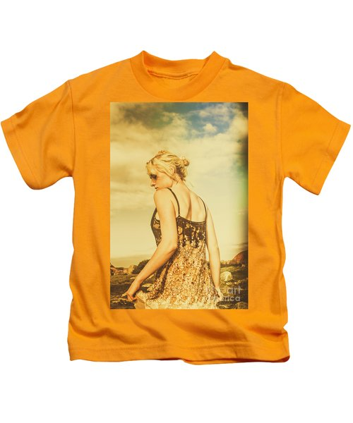 Antique Country Adventure Kids T-Shirt