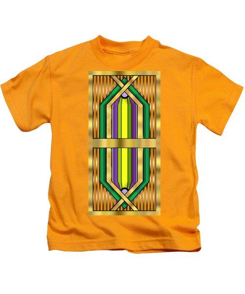 Art Deco 14 Vertical Kids T-Shirt