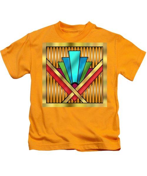Art Deco 15 Transparent Kids T-Shirt