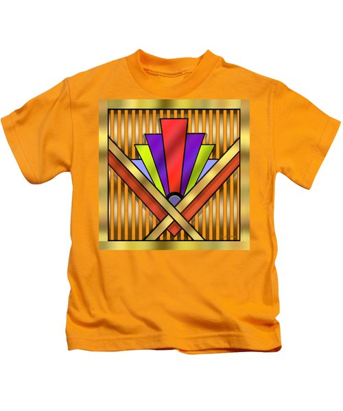 Art Deco 16 Transparent Kids T-Shirt