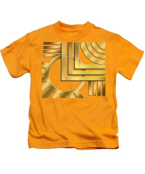 Art Deco 19 Transparent Kids T-Shirt