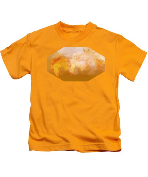 Flaxen Manes Kids T-Shirt