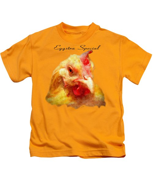 Goldie's Turn - Silk Paint Kids T-Shirt