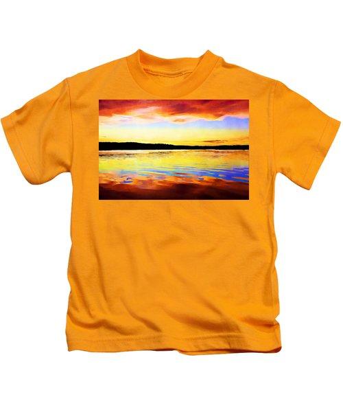 As Above So Below - Digital Paint Kids T-Shirt