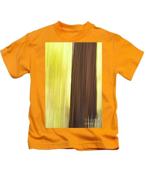 Aspen Blur #4 Kids T-Shirt