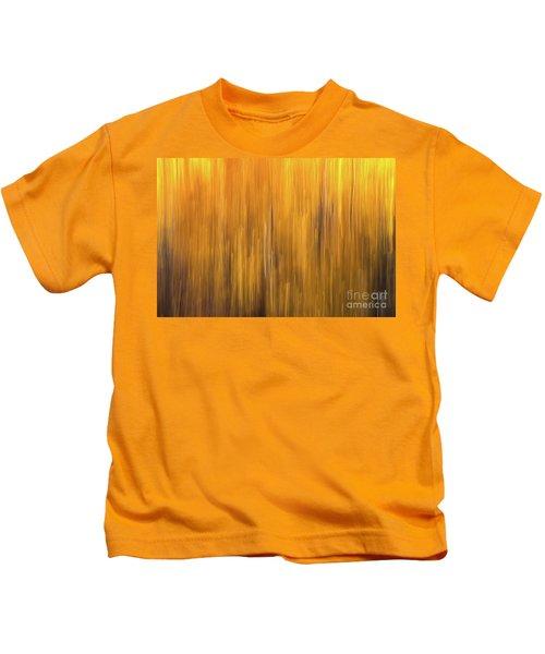 Aspen Blur #5 Kids T-Shirt