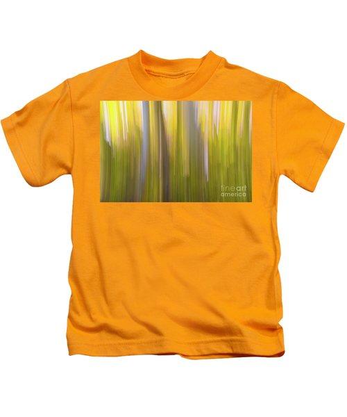 Aspen Blur #6 Kids T-Shirt