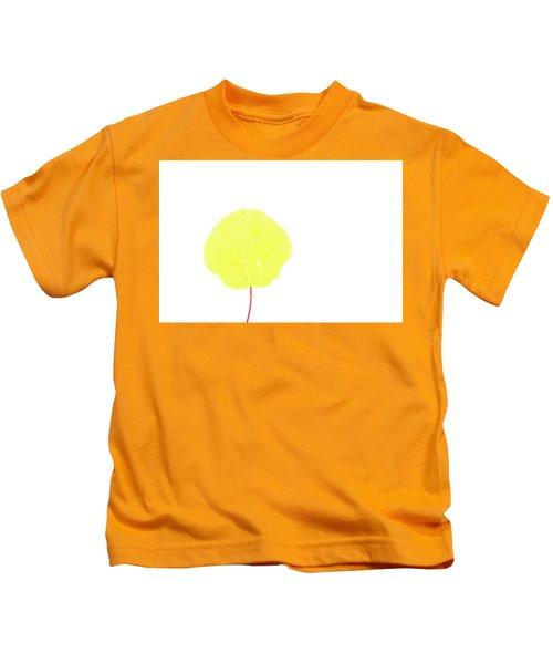 Aspen Yellow Kids T-Shirt