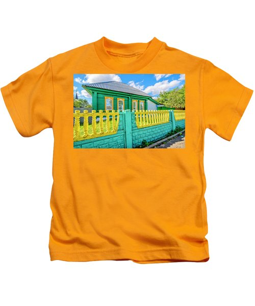 At Home In Belarus Kids T-Shirt