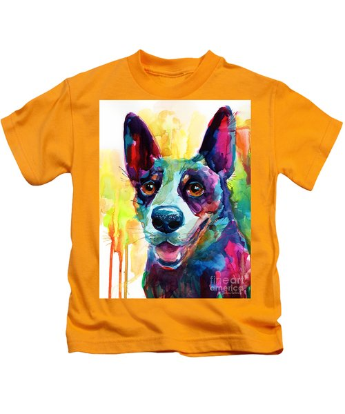 Australian Cattle Dog Heeler Kids T-Shirt