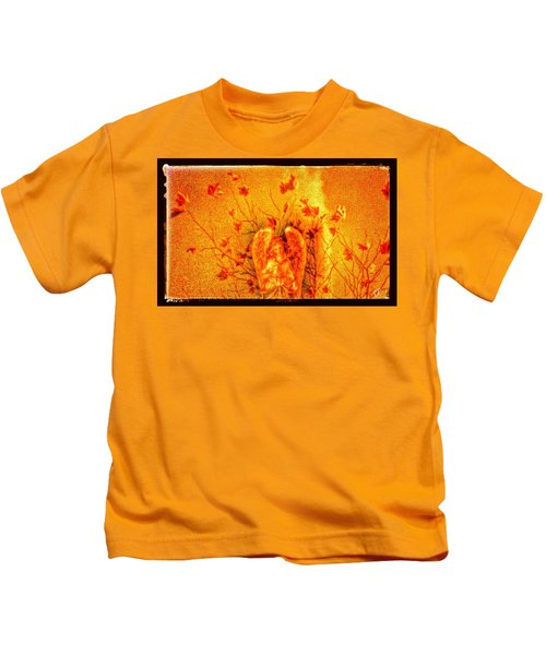 Autumn Angel Kids T-Shirt