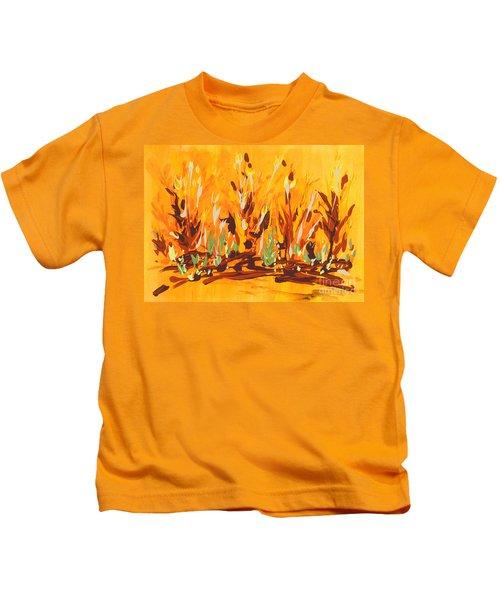 Autumn Garden Kids T-Shirt