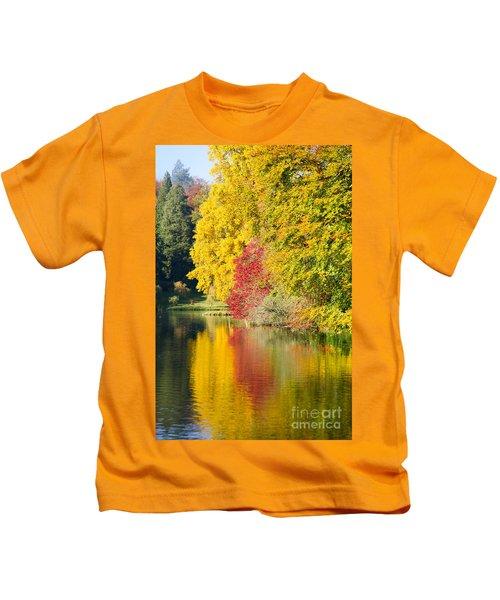 Autumn Trees Kids T-Shirt
