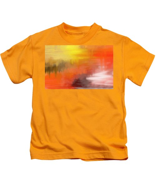 Autumnal Abstract  Kids T-Shirt
