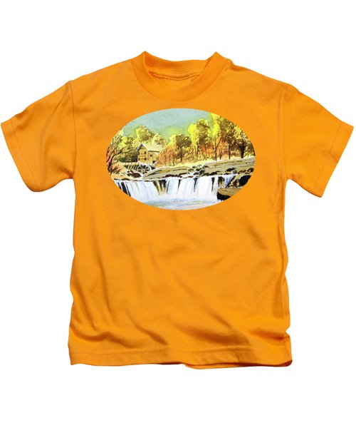 Babcock State Park West Virginia Kids T-Shirt