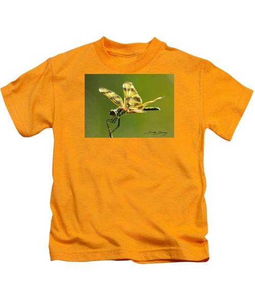 Banded Pennant, Female Kids T-Shirt