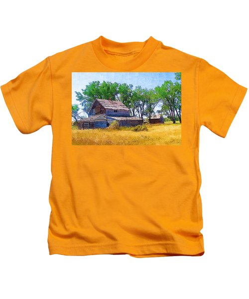 Barber Homestead Kids T-Shirt
