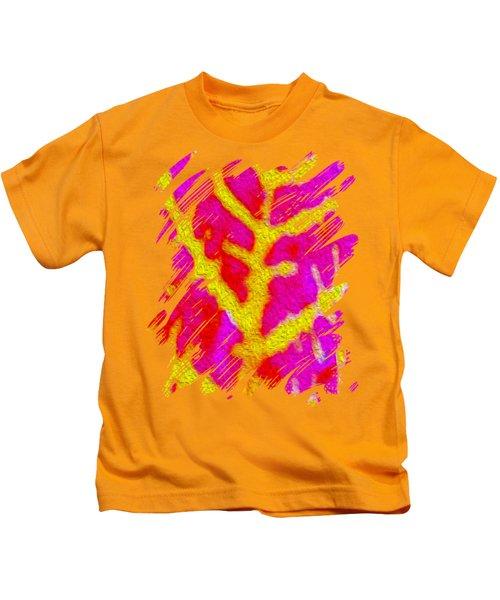 Bazaar Leaf Art Kids T-Shirt