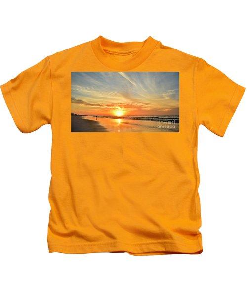 Beach Of Gold Kids T-Shirt
