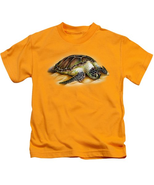 Beached For Promo Items Kids T-Shirt by William Love