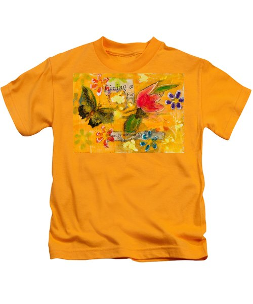 Beauty Without Vanity Kids T-Shirt