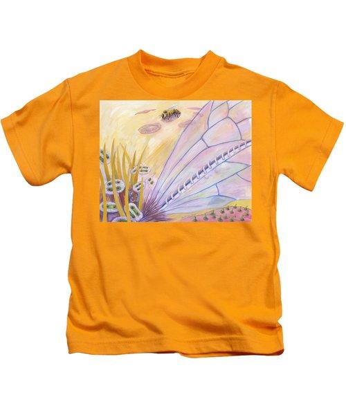 Bee's Wings Kids T-Shirt