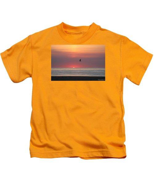 Beginning The Day Kids T-Shirt