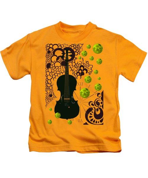 Black Violin Kids T-Shirt