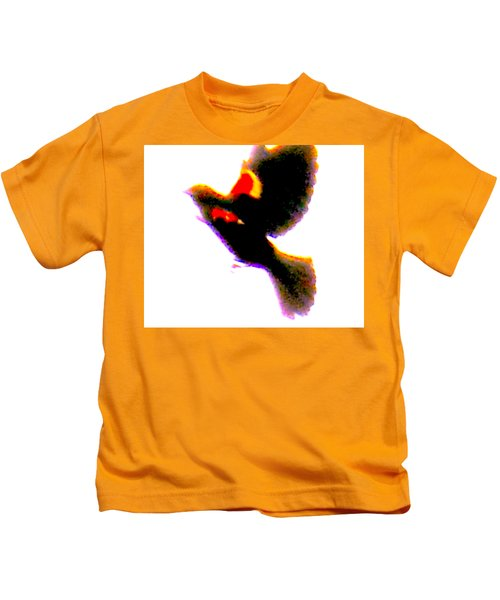 Blackbird Impressionism Kids T-Shirt