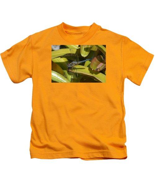 Blue Dasher 2 Kids T-Shirt