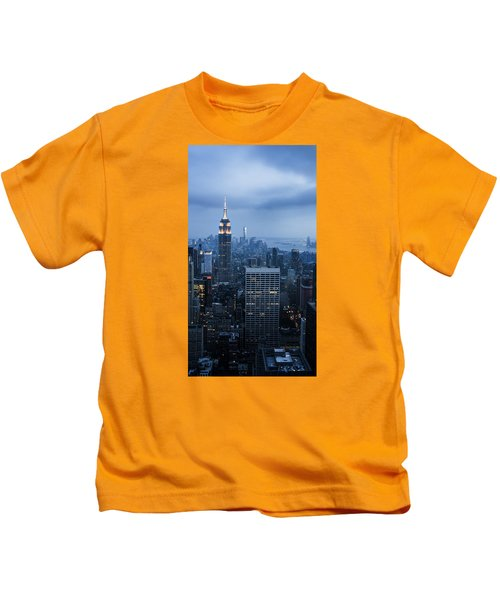 Blue New York Kids T-Shirt