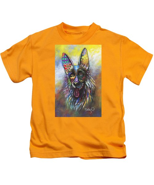 German Shepherd Kids T-Shirt