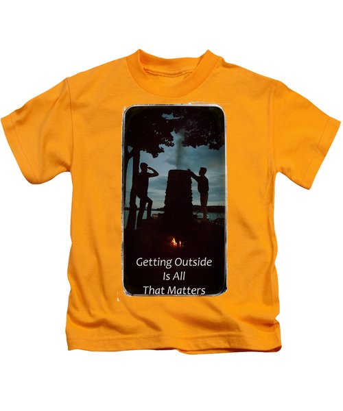 Boys Looking On Kids T-Shirt