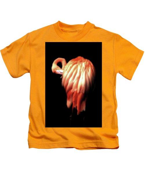 Bowie Flamingo Kids T-Shirt