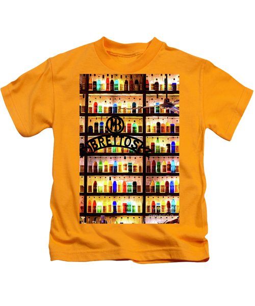 Brettos Bar In Athens, Greece - The Oldest Distillery In Athens Kids T-Shirt