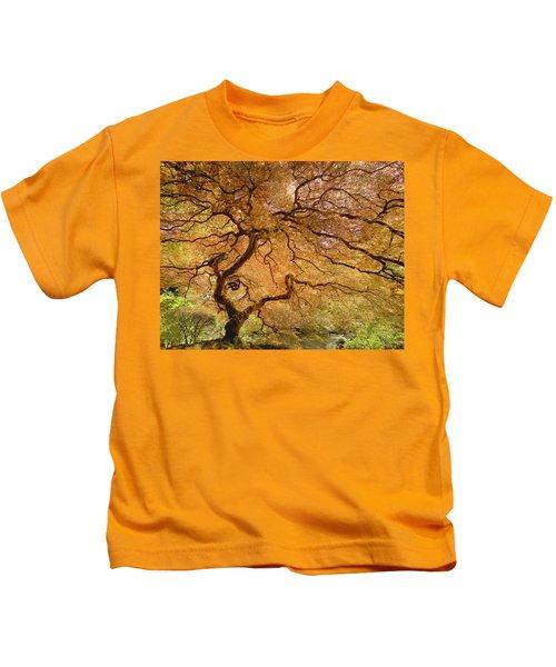 Brilliant Japanese Maple Kids T-Shirt