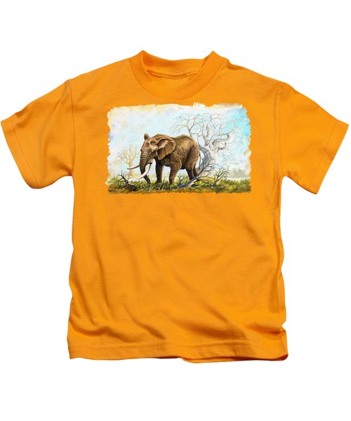 Browsing In The Bushes Kids T-Shirt