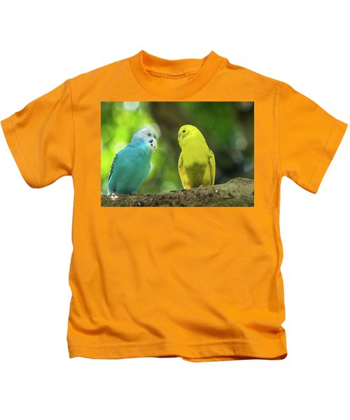 Budgie Buddies Kids T-Shirt