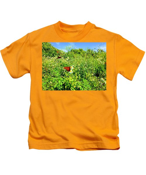 Butterfly Bonanza Kids T-Shirt