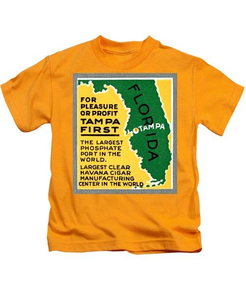 C. 1925 Tampa First Kids T-Shirt