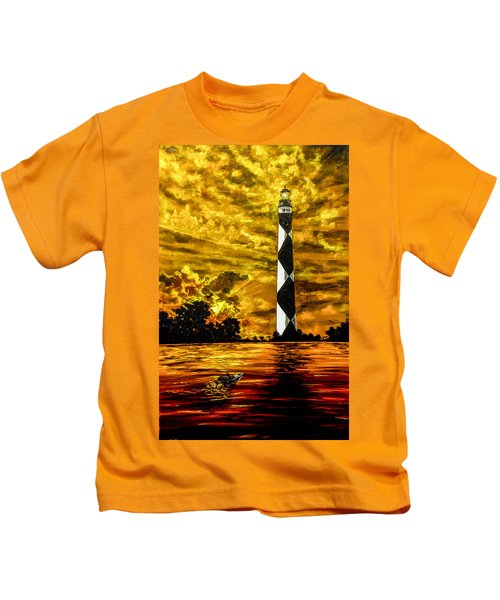 Candle On The Water Kids T-Shirt