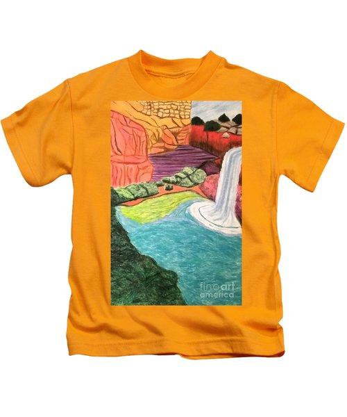 Canyons Secret Hideaway Kids T-Shirt