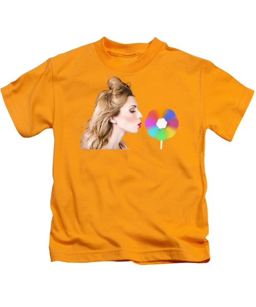 A Motion Of Colours Kids T-Shirt