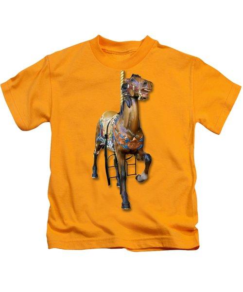 Carousel Horse Kids T-Shirt