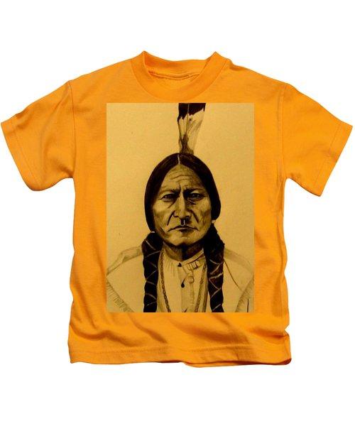 Chief Sitting Bull  Tatanka Iyotake Kids T-Shirt
