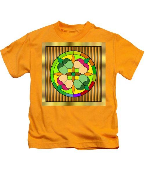 Circle On Bars 2 Kids T-Shirt