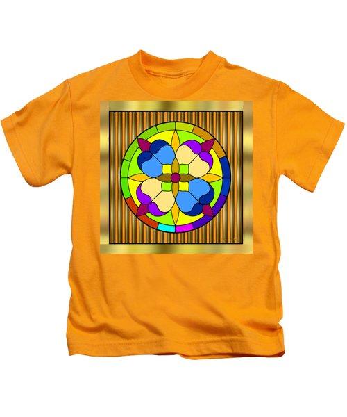 Circle On Bars 3 Kids T-Shirt