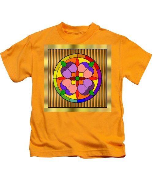 Circle On Bars Kids T-Shirt
